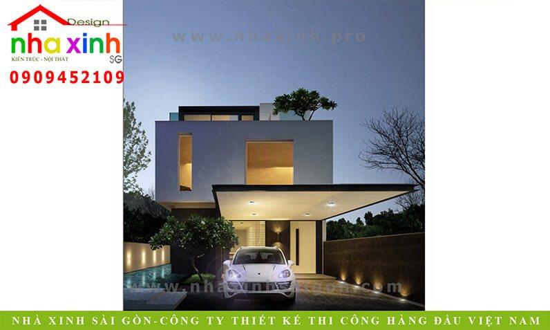 Nhà Phố Hiện Đại Phú Mỹ Hưng | NP-109