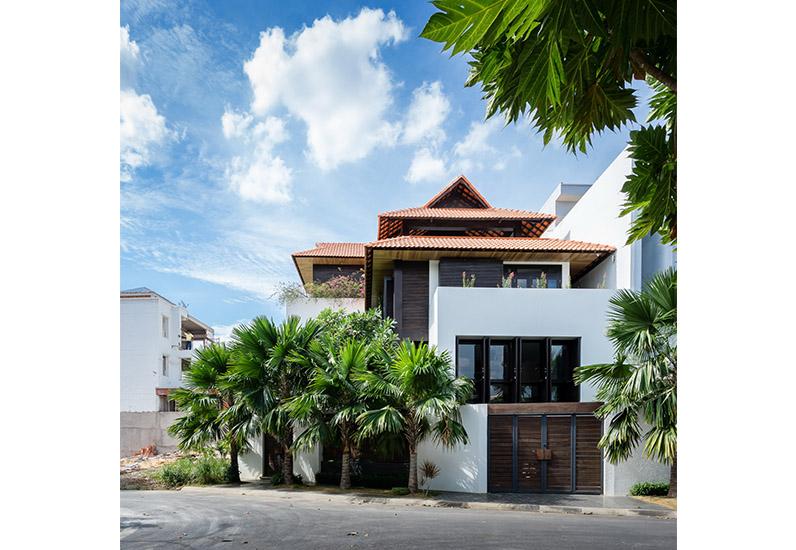 Kiến Trúc Biệt Thự Đẹp Mang Phong Cách Nhà Vườn Xứ Huế | BT-110