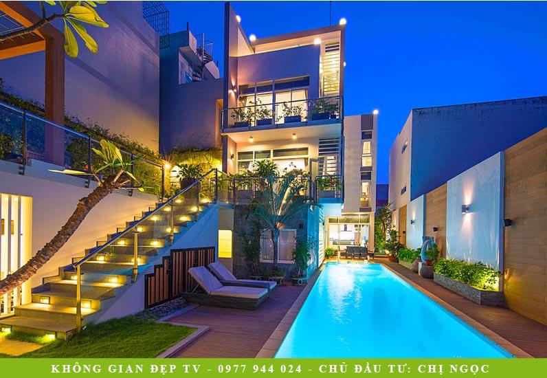 Mẫu Biệt Thự Hiện Đại | Đường Gò Ô Môi Hẻm 48 Phường Phú Thuận Quận 7 | BT-168