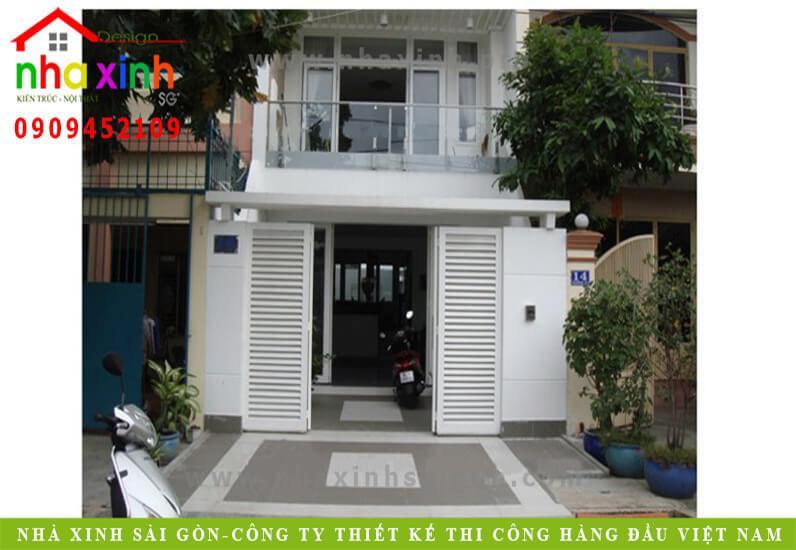 Mẫu Thiết Kế Nhà Phố Đẹp 4 Tầng | Chị Nghi Bình Tân | NP-110