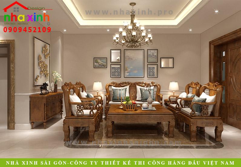 Phối Cảnh Nội Thất Biệt Thự Đẹp Nhiều Phòng Ngủ | Cô Hợi | Quận 2 | NT-144