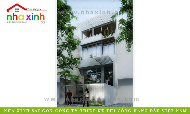 Mẫu Nhà Phố Đẹp | Chị Hiền | NP-183