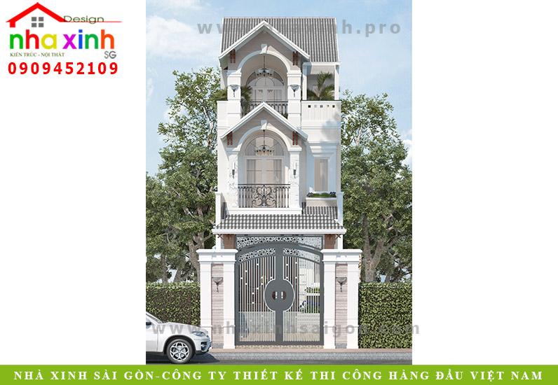 Nhà Phố 3 Tầng Đẹp   C. Tuyết   Hóc Môn   NP-138
