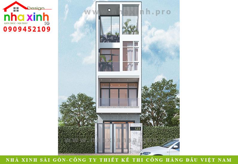 Nhà Phố Đẹp 3 Tầng   Chị Lý   Bình Thạnh   NP-159