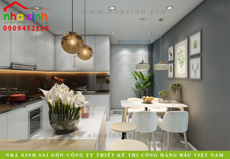 Nội Thất Nhà Phố 4 Tầng 4 Phòng Ngủ | Ông Hà | Tân Bình | NT-157