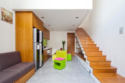 Kiến trúc nhà ở tuyệt vời dù chỉ là 32 m2 diện tích